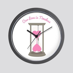 Love Is Timeless Wall Clock