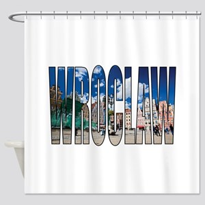 Wroclaw Shower Curtain