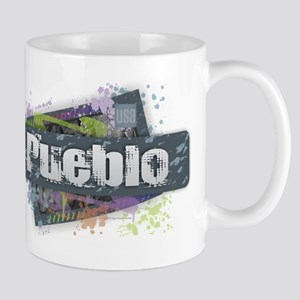 Pueblo Design Mugs