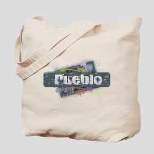Pueblo Design Tote Bag