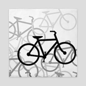 Bikes Queen Duvet