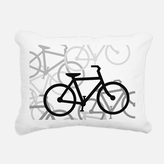 Bikes Rectangular Canvas Pillow