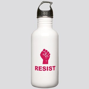 Resist Fist Pink Stainless Water Bottle 1.0L