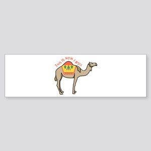 How I Roll Bumper Sticker
