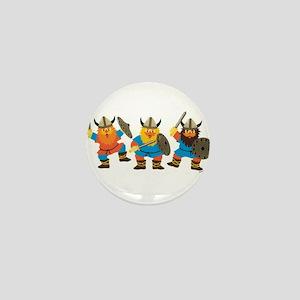 Vikings Mini Button
