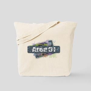 Area 51 Design Tote Bag