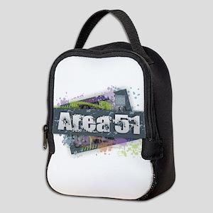Area 51 Design Neoprene Lunch Bag