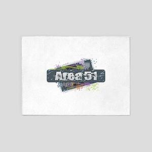 Area 51 Design 5'x7'Area Rug