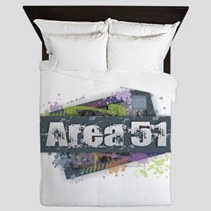 Area 51 Design Queen Duvet