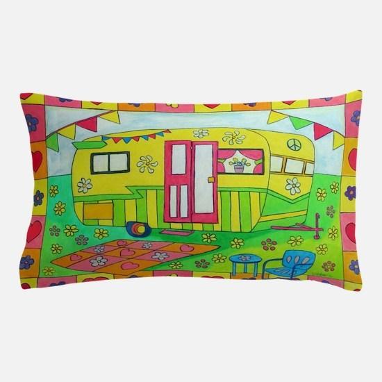 Cute Camper Pillow Case