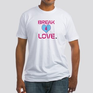 """Break 4 Love (TM) """"Men's Fitted T-Shirt"""""""