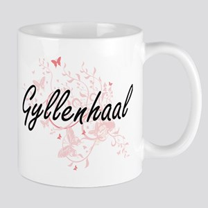 Gyllenhaal surname artistic design with Butte Mugs