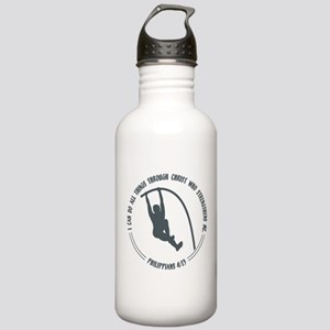 POLE VAULT, PHIL 4:13 Stainless Water Bottle 1.0L