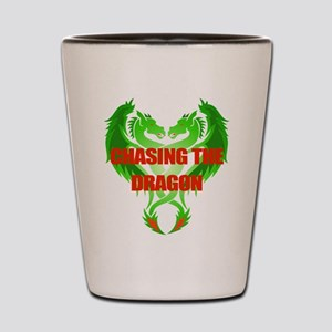 Chasing the Dragon Shot Glass