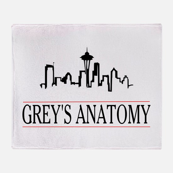 Funny Greysanatomytv Throw Blanket