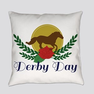 Derby Day Everyday Pillow