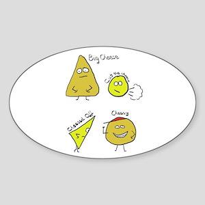 Cheese Puns Sticker