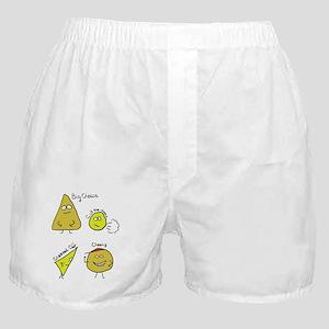 Cheese Puns Boxer Shorts
