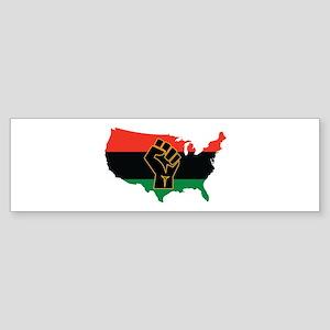 African American Bumper Sticker
