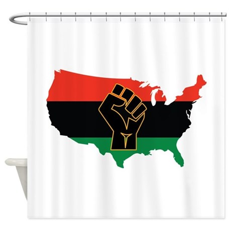 African American Shower Curtain by AnnTheGran11