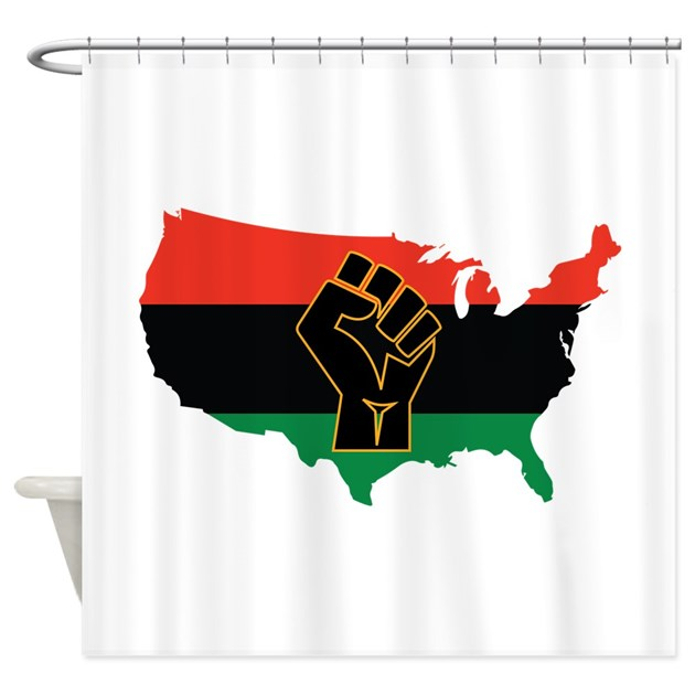 African American Shower Curtain By AnnTheGran11
