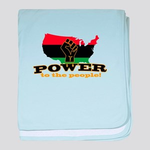 Power To People baby blanket