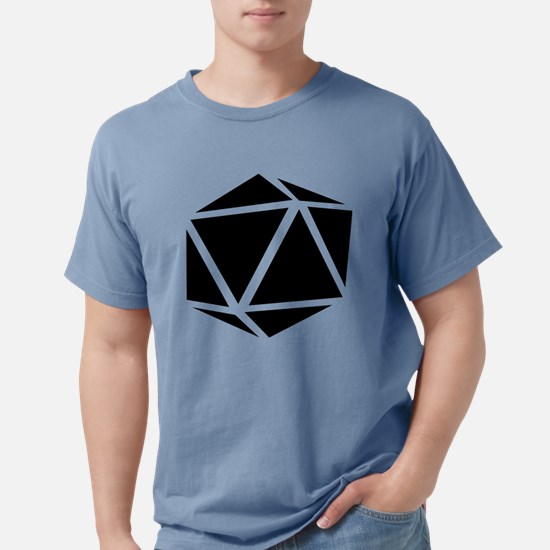 icosahedron black T-Shirt