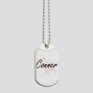 Conner surname artistic design with Butte Dog Tags