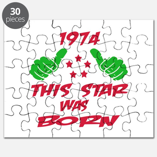 1974 This star was born Puzzle