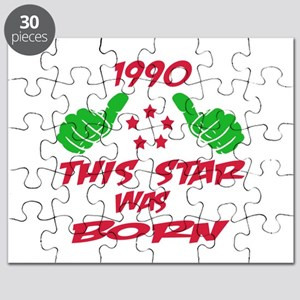 1990 This star was born Puzzle