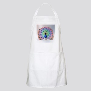 Colorful Peacock Apron