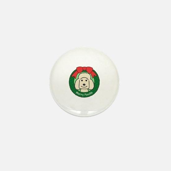 Unique Standard poodle cartoon Mini Button