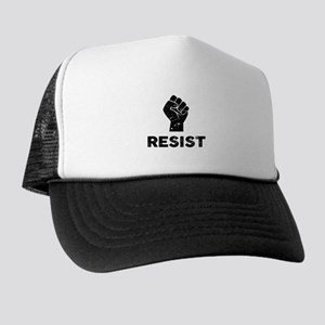 acfb4a2106f Resist Fist Distressed Trucker Hat