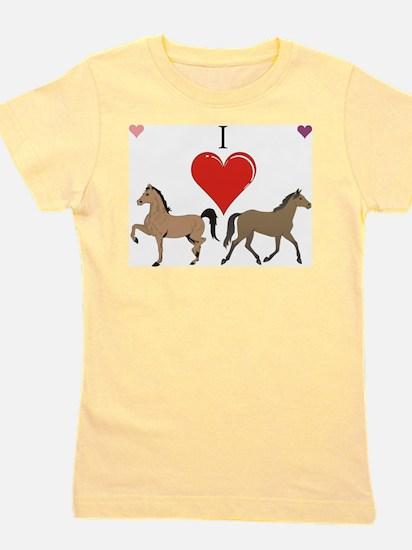 Cute Horse lovers Girl's Tee