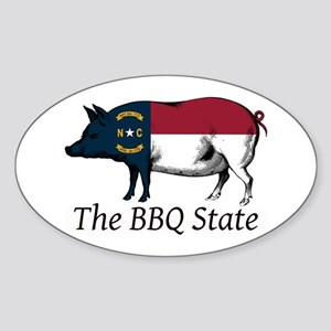 The BBQ State Sticker