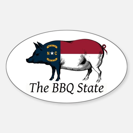 The BBQ State Decal