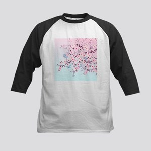 Cherry Blossom with Butterfly Baseball Jersey