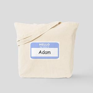 My Name is Adam Tote Bag