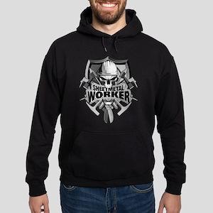 Sheetmetal Worker Skull Hoodie