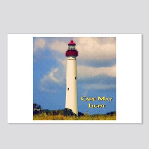 Cape May Light Watercolor Postcards (Package of 8)