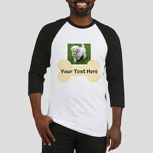 Personalize Dog Gift Baseball Jersey