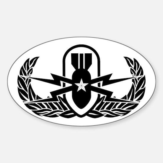 EOD Sr. Sticker (Oval)