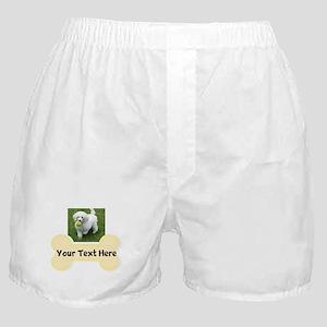 Personalize Dog Gift Boxer Shorts