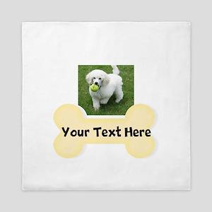 Personalize Dog Gift Queen Duvet