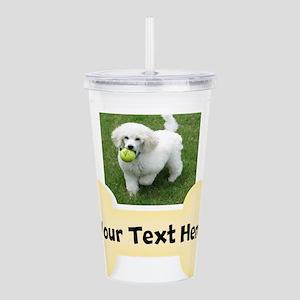 Personalize Dog Gift Acrylic Double-wall Tumbler