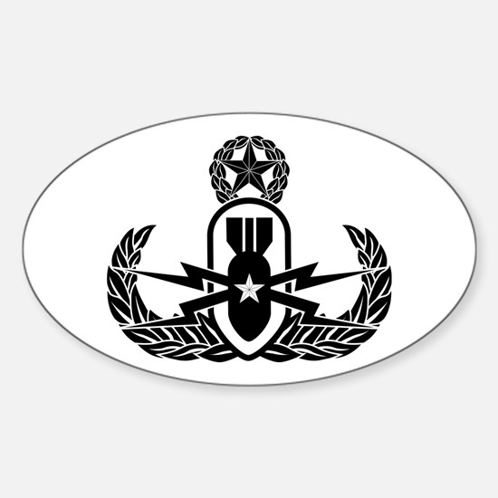 EOD Master Sticker (Oval)