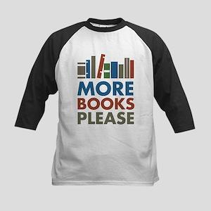 More Books Please Baseball Jersey