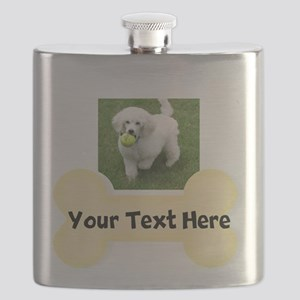 Personalize Dog Gift Flask