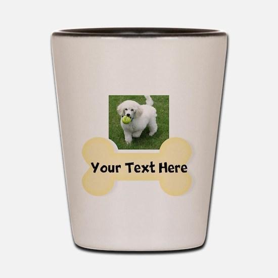 Personalize Dog Gift Shot Glass