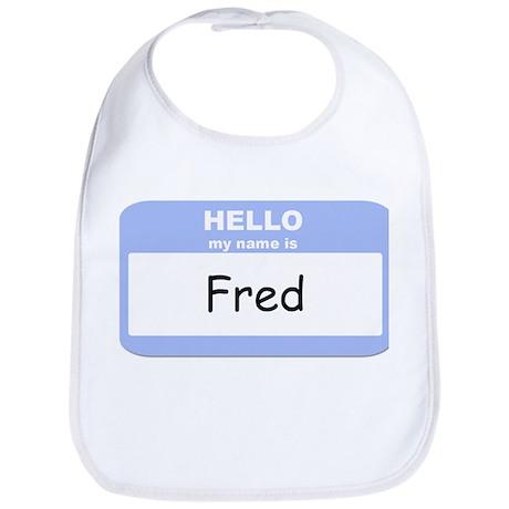 My Name is Fred Bib